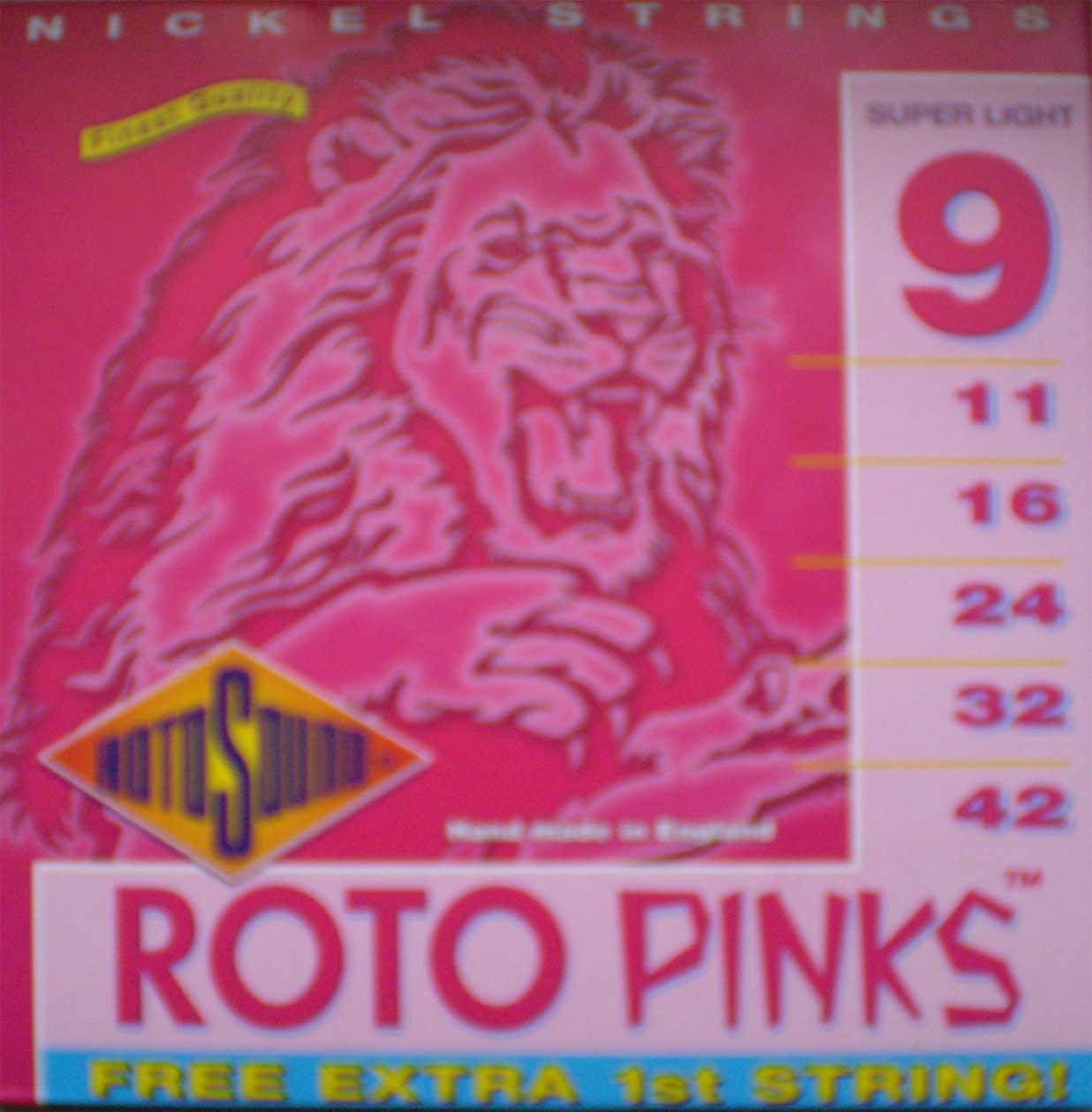 Roto Sound - Pinks