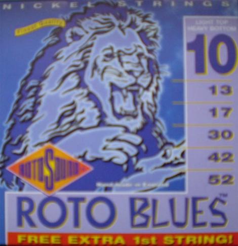 Roto Sound - Blues - 10/52 Elektrická gitara - RH_10 - Light Top Heavy Bottom
