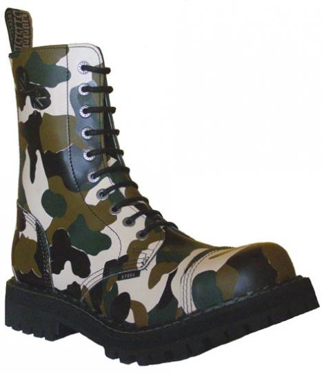 Maskáčová-Army - 10-dierkové