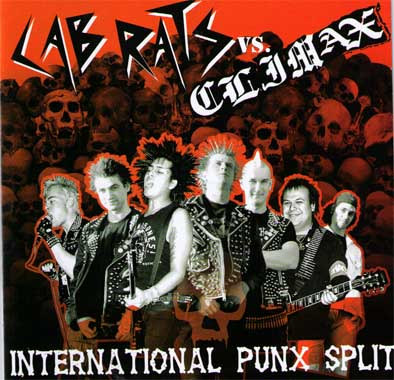 Lab Rats / Climax - International Punx Split (CD)