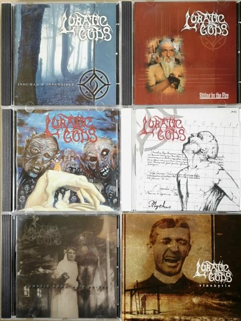 Lunatic Gods (komplet albumov) - Komplet albumov spolu za akciovú cenu!