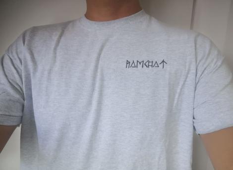 RAMCHAT 01 - kruhové logo - Svetlo strieborný melír