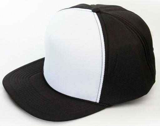 Čierno-biela šiltovka