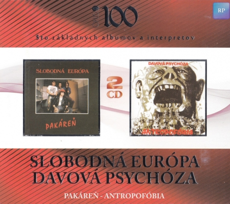 Slobodná Európa / Davová psychóza - Pakáreň / Antropofóbia (2 CD)