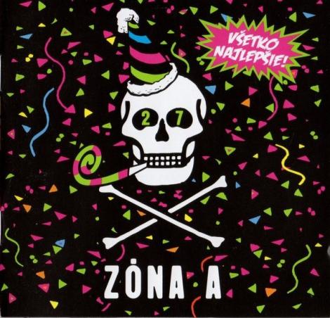 Zóna A - Všetko najlepšie (CD)