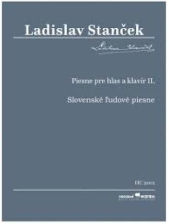 Piesne pre hlas a klavír II. - Slovenské ľudové piesne