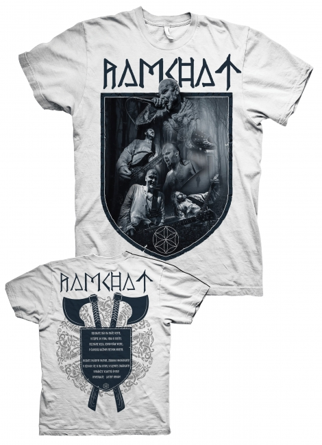 Ramchat 02 - Kapela 2020 - biele tričko