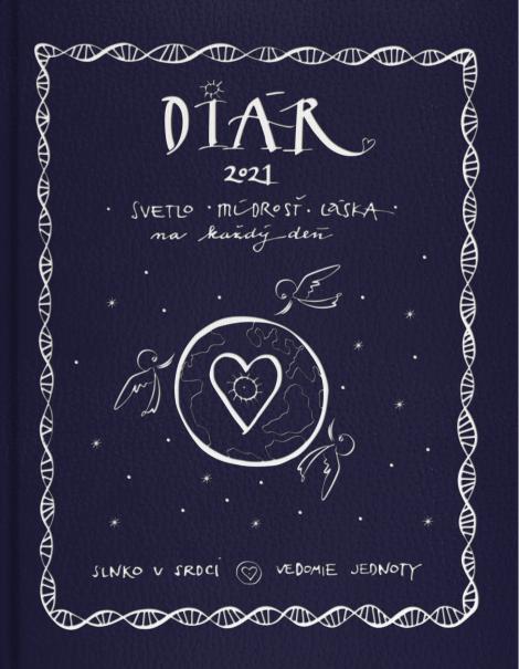 Diár 2021 (Slnko v srdci, Vedomie jednoty) - Janka Sofia Thomková