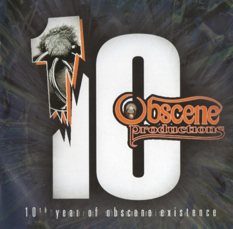 10th Year Of Obscene Existence - Kompilácia (CD)