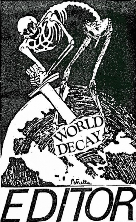 Editor - The Flood After Us / World Decay (MC)