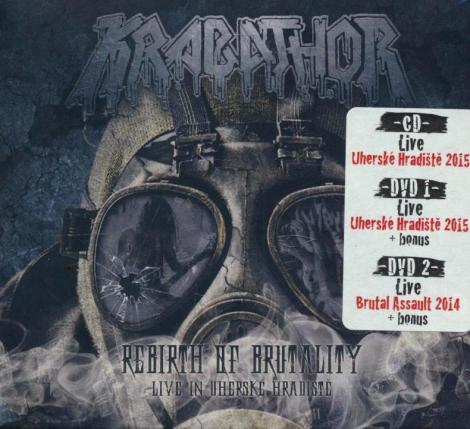 Krabathor - Rebirth of brutality (1 CD + 2 DVD)