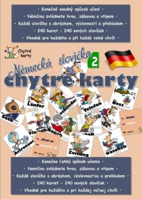 Chytré karty: Němčina - Německá slovíčka 2 -