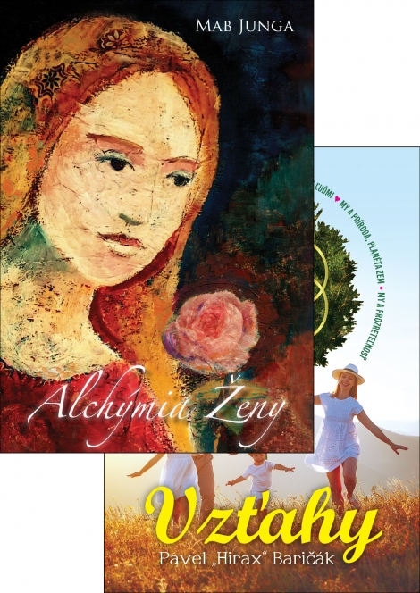 Alchýmia ŽENY + Vzťahy - Kolekcia kníh