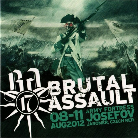 Brutal Assault 2012 - 8. - 11. 2012 Jaroměř (DVD)