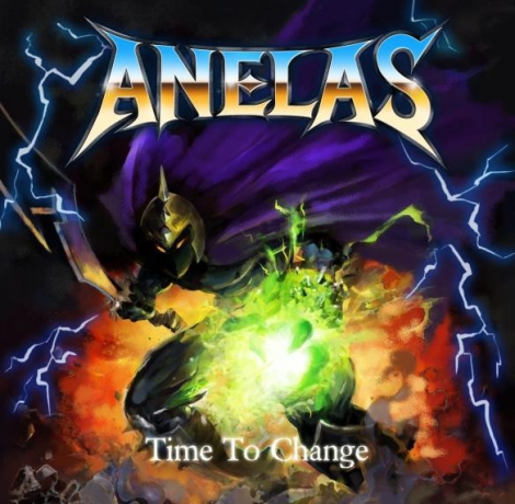 Anelas - Time To Change (CD)