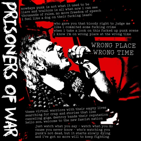 Prisoners Of War - Wrong Place / Wrong Time (LP)