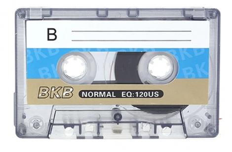Magnetofónová kazeta BKB EQ: 120US - Audiokazeta BKB EQ: 120US