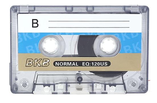 Magnetofónová kazeta BKB EQ: 120US