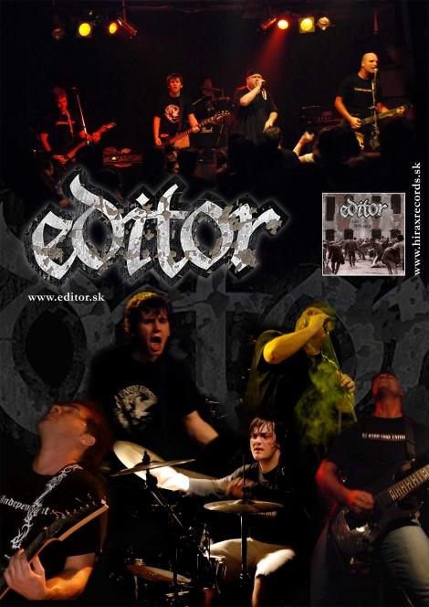 EDITOR - Farebný plagát
