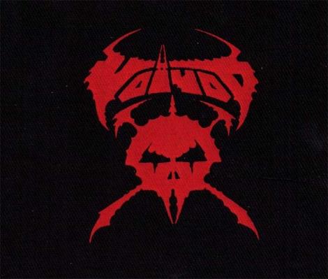 VOIVOD - červené logo