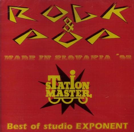 Rock & Pop Made In Slovakia '95 - Best of studio Exponent (CD)