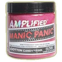 RUŽOVÁ (Manic Panic) - Cotton Candy Pink – Amplified