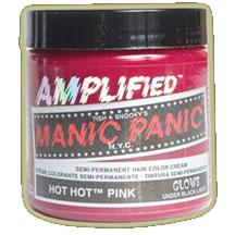 RUŽOVÁ (Manic Panic) - Hot Hot Pink – Amplified