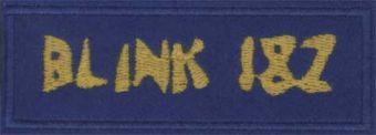 BLINK 182 - Žlté logo