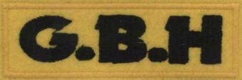 G.B.H. - Čierne logo