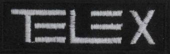TELEX - Biele logo