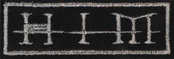 HIM - Strieborné logo