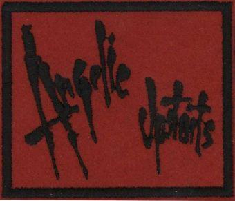 ANGELIC UPSTARTS - Čierne logo