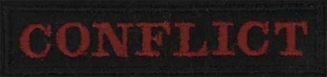 CONFLICT - Červené logo