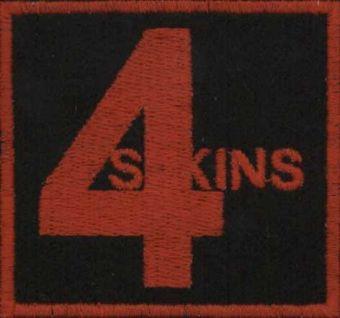 4 SKINS - Červené logo