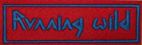 RUNNING WILD - Modré logo