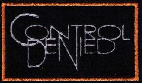 CONTROL DENIED - biele logo