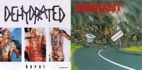 Bestialit / Dehydrated - Fuckland / Burnt