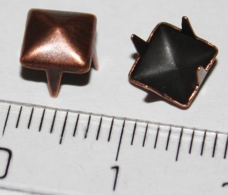 PYRAMÍDA 6 mm MOSADZNÁ - Jednotlivý vybíjanec