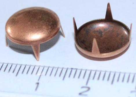 BUBÁK 12 mm MEDENÝ - Jednotlivý vybíjanec