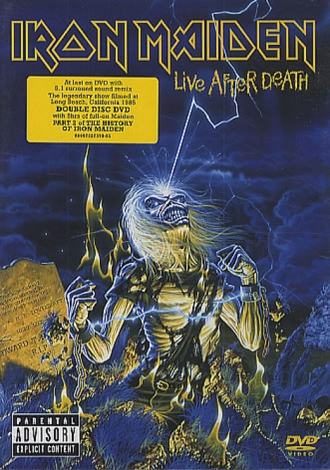IRON MAIDEN - Live After Death (2DVD)
