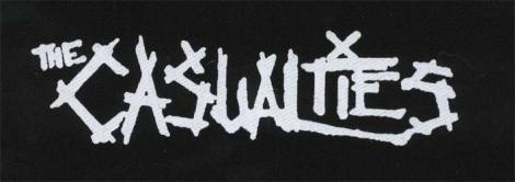 CASUALTIES - Biele logo