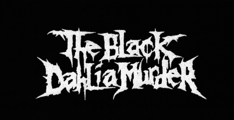 THE BLACK DAHLIA MURDER - Logo kapely