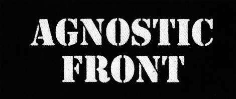 AGNOSTIC FRONT - Logo kapely