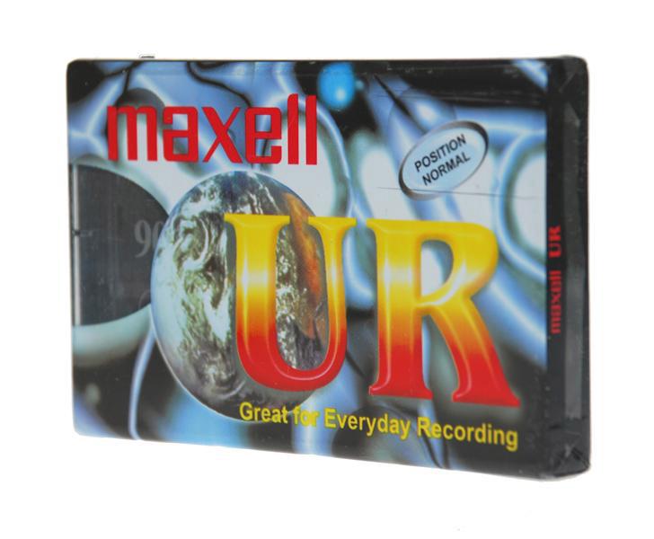 Magnetofónová kazeta Maxell UR90