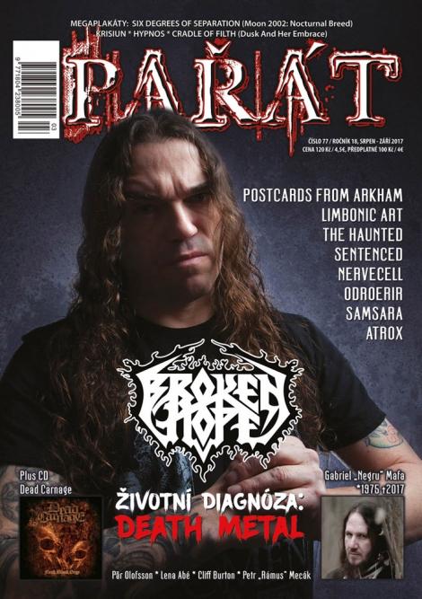 Pařát - 77 + CD Dead Carnage