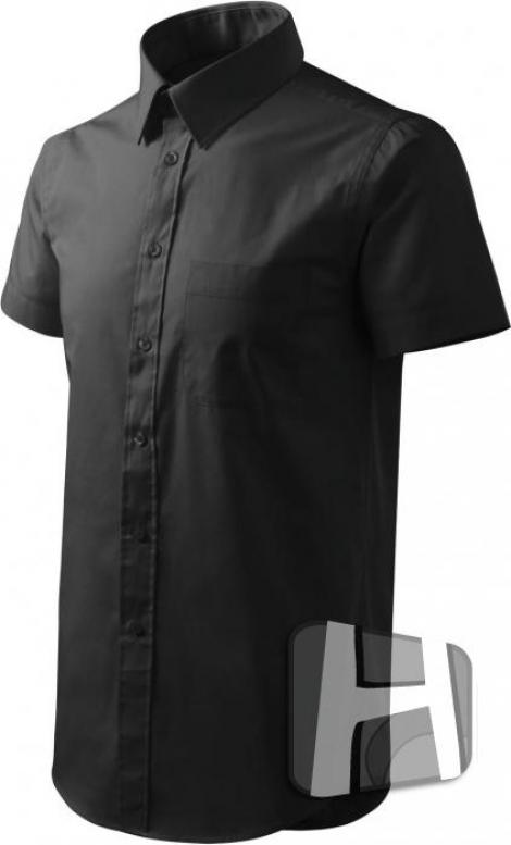 SHIRT KRÁTKE RUKÁVY - VÝPREDAJ - Čierne košele