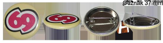 Odznak 37 mm - ukážka - HIRAX Shop