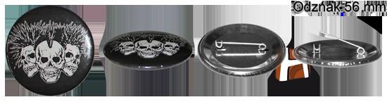 Odznak 56 mm - ukážka - HIRAX Shop
